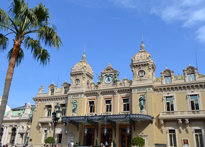 モナコの名所「グラン・カジノ」