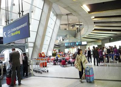 フランス・パリ シャルル・ド・ゴール空港 第1ターミナル