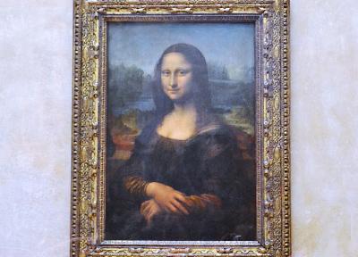ルーヴル美術館の「モナリザ」