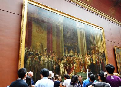 ルーヴル美術館「ナポレオンの戴冠式」