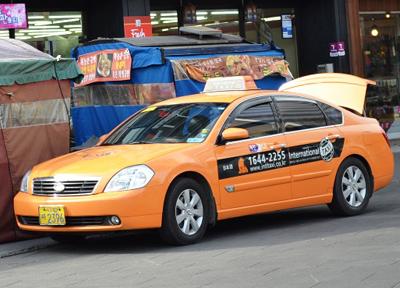 外国人専用タクシー