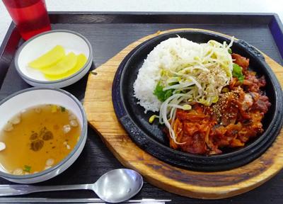 韓国のフードコート