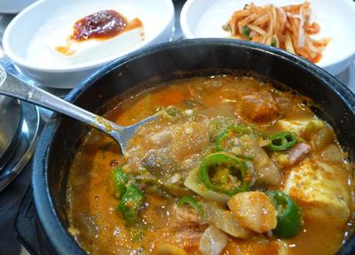韓国の「納豆汁」