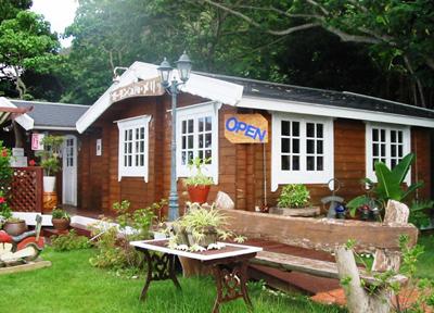 大宜味村のカフェ「ガーデンcafe メリ」