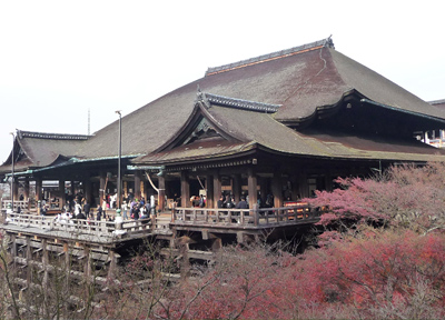 京都の人気観光スポット「清水寺」