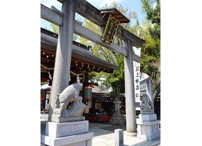 足腰にご利益ある「護王神社」