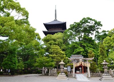 新幹線からも見える京都のシンボル「東寺」