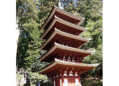 室生寺の五重塔は必見スポット