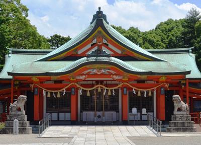 多治速比売神社の本殿
