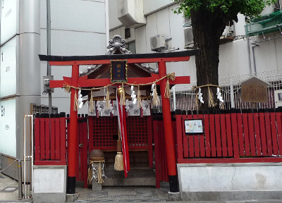 大阪・梅田にある歯神社