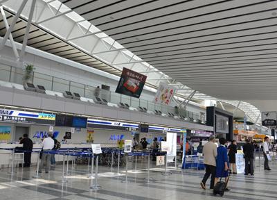 仙台空港のターミナル