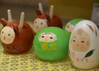 仙台で人気の「こけし雑貨」