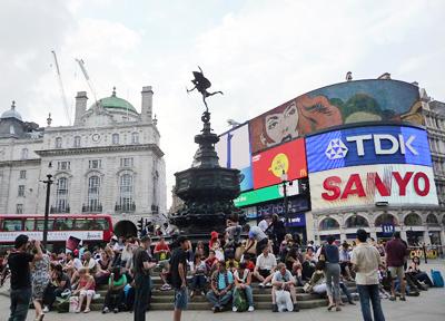 イギリス・ロンドンのピカデリーサーカス