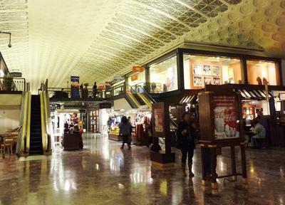 ユニオン駅のショッピングモール