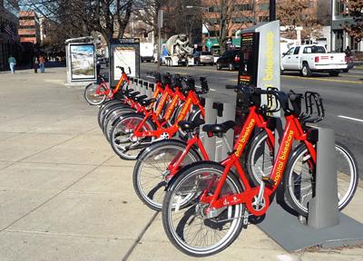 ワシントンDCのレンタル自転車