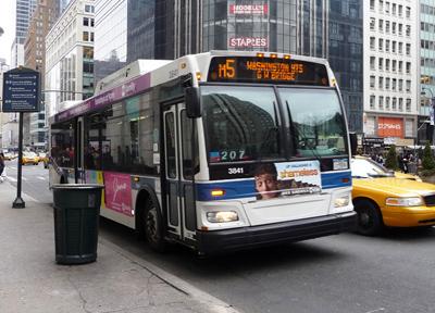 NYCのバス