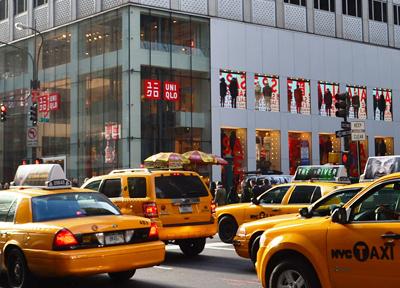 ニューヨーク5番街のユニクロ
