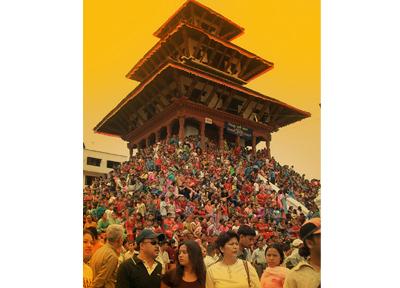 ネパール/奇祭インドラ・ジャトラ