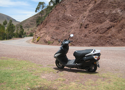 ペルー バイク