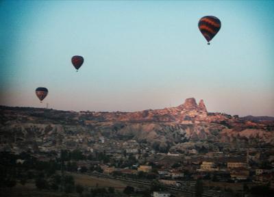 トルコ 気球