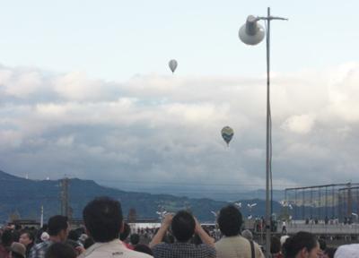 佐賀インターナショナルバルーンフェスタ 気球