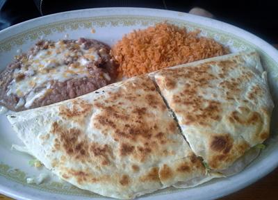 よく行くメキシコ料理のレストラン