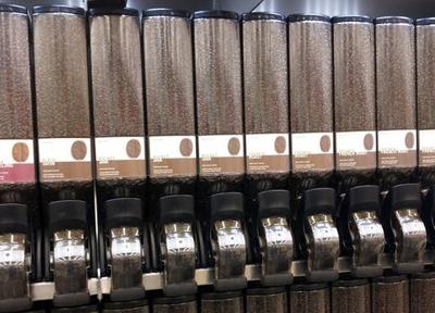カリフォルニアで売られているコーヒー