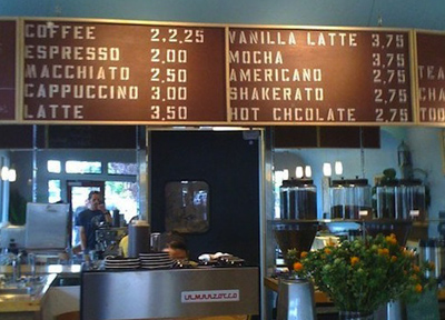 アメリカのコーヒーの値段
