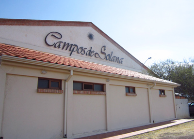 カンポ・デ・ソロラのボデガ(ワイン醸造所)