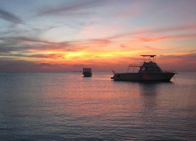 アルバ島 ばっちりきれいな夕陽を見られるスポット