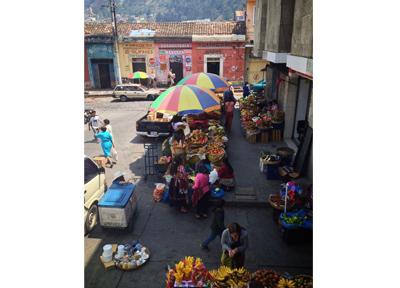 グアテマラ シェラの大きな市場