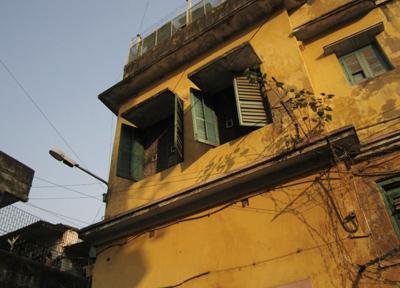 植民地時代に建てられた情緒ある建物