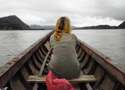 広大なメコン川