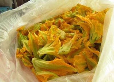 フロール・デ・カラバサ。かぼちゃの花