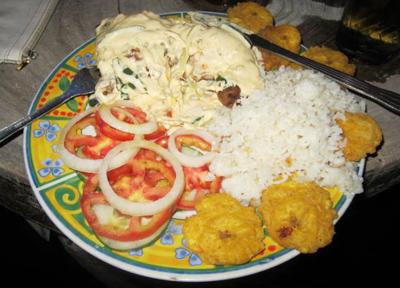 ワンプレートニカラグアご飯