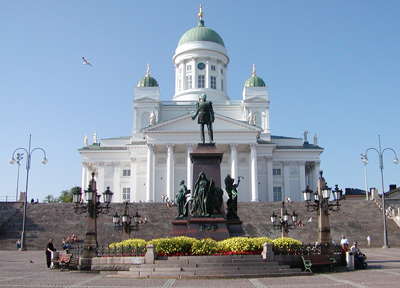 ヘルシンキ大聖堂外観