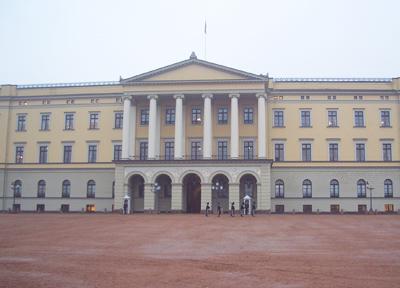 ノルウェー 王宮外観